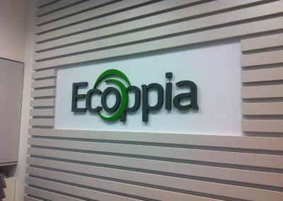 שילוט חברת Ecoppia