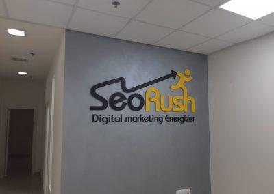 שלט משרד SeoRush